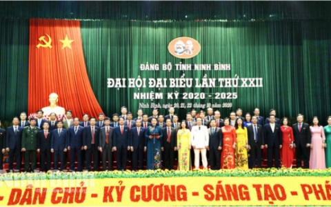 Đồng chí Nguyễn Thị Thu Hà được bầu giữ chức vụ Bí thư Tỉnh ủy Ninh Bình nhiệm kỳ 2020-2025