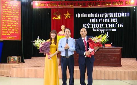 Yên Mô kiện toàn chức danh Phó Chủ tịch UBND huyện