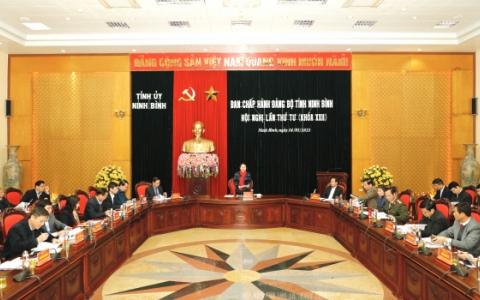 Hội nghị lần thứ tư, BCH Đảng bộ tỉnh khóa XXII