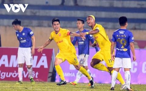 Nam Định đã quên chiến thắng trước Hà Nội FC, sẵn sàng đấu Hải Phòng