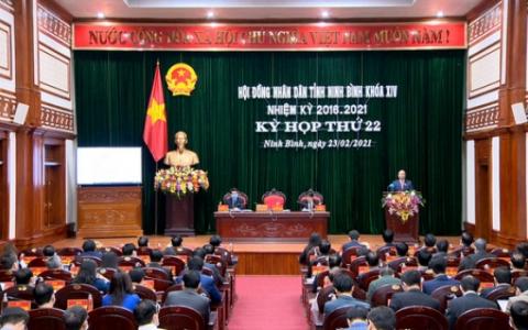 Kỳ họp thứ 22, HĐND tỉnh khóa XIV