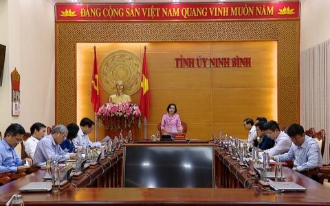 Hội nghị Ban Chỉ đạo nghiên cứu, biên soạn, xuất bản lịch sử Đảng bộ tỉnh Ninh Bình