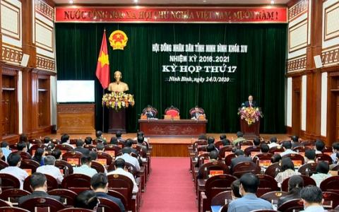 Kỳ họp thứ 17, HĐND tỉnh khoá XIV