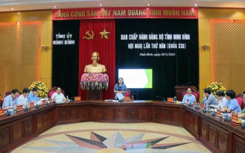 Hội nghị lần thứ năm, Ban Chấp hành Đảng bộ tỉnh