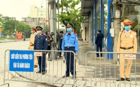 Ninh Bình: Lập 5 chốt kiểm soát phương tiện vận tải hành khách