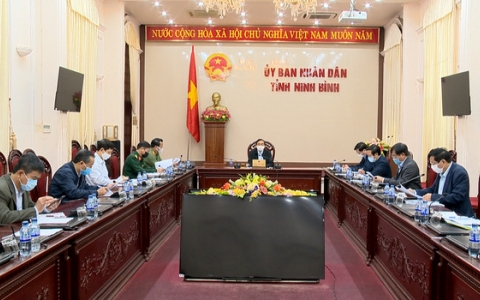 Thường trực Ban Chỉ đạo tỉnh họp triển khai nhiệm vụ cấp bách phòng, chống dịch Covid-19