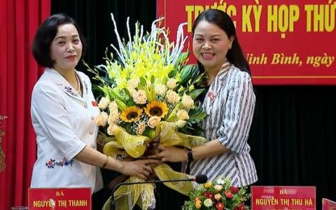 Đồng chí Nguyễn Thị Thu Hà được bầu làm Trưởng đoàn ĐBQH tỉnh Ninh Bình