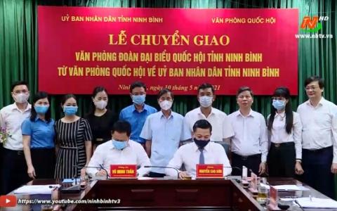 Chuyển giao Văn phòng Đoàn đại biểu Quốc hội tỉnh về UBND tỉnh