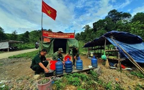 Điện Biên: Tiếp nhận 90 chiến sỹ tăng cường cho tuyến đầu chống dịch