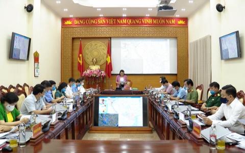 Đồng chí Nguyễn Thị Thu Hà chủ trì Hội nghị Ban Thường vụ Tỉnh uỷ