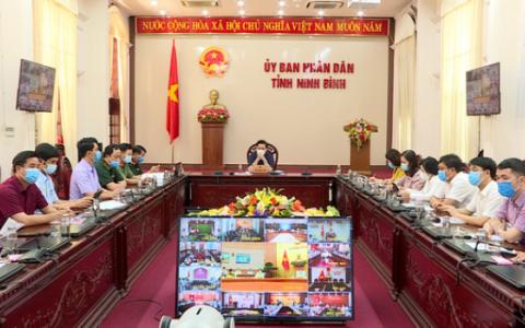 Hội nghị trực tuyến toàn quốc về công tác phòng, chống dịch Covid-19