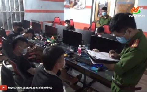 Xử phạt quán Internet hoạt động giữa dịch Covid-19 tại TP Ninh Bình