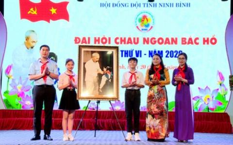 Đại hội Cháu ngoan Bác Hồ tỉnh Ninh Bình lần thứ VI