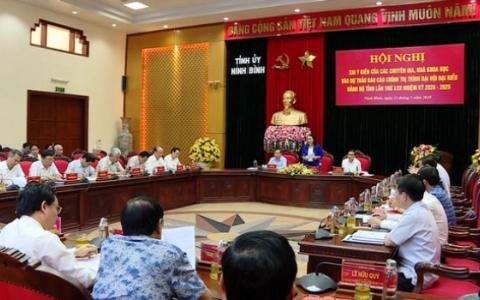 Góp ý vào Dự thảo báo cáo chính trị trình Đại hội đại biểu Đảng bộ tỉnh nhiệm kỳ 2020-2025