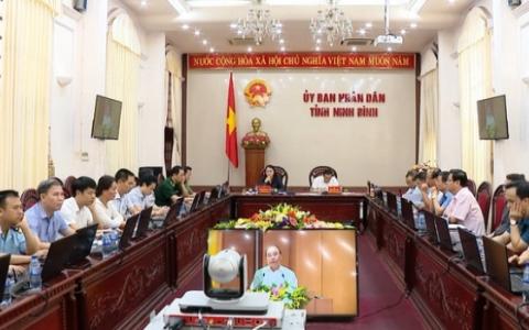 Hội nghị trực tuyến Chính phủ với các địa phương