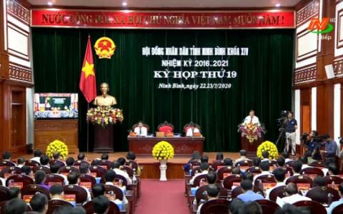 Khai mạc Kỳ họp thứ 19, HĐND tỉnh khóa XIV