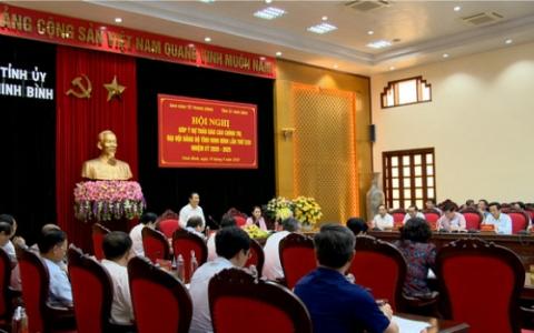Ban Kinh tế Trung ương làm việc với BTV Tỉnh ủy Ninh Bình