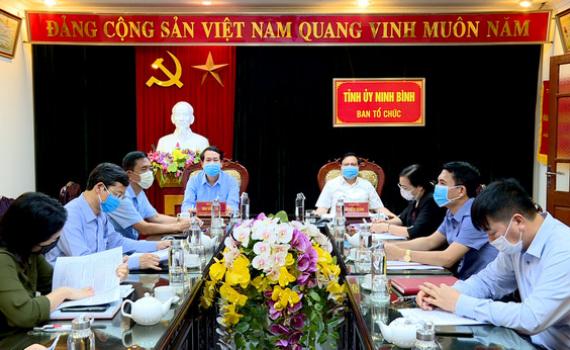 Hội nghị trực tuyến triển khai công tác Tổ chức xây dựng Đảng quý II năm 2020