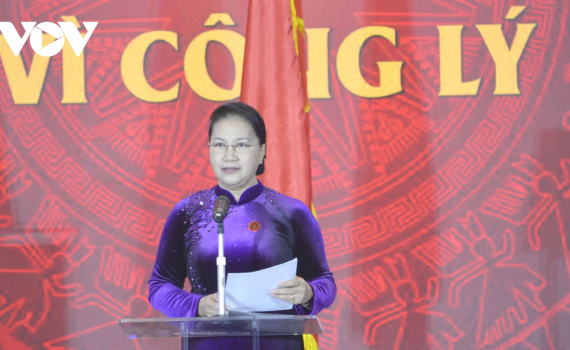 Chủ tịch Quốc hội: Bản án nghiêm minh của Toà án là sức mạnh của quyền tư pháp