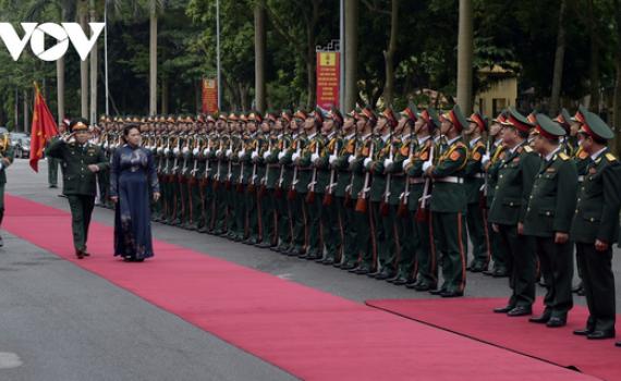 Chủ tịch Quốc hội dự Lễ kỷ niệm 70 năm ra đời Báo Quân đội nhân dân