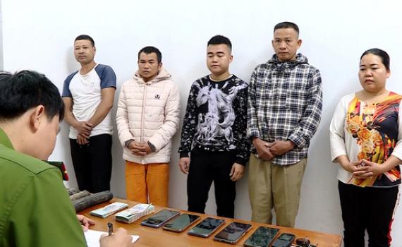 Công an TP Ninh Bình bắt giữ nhóm đối tượng trộm cắp dây cáp