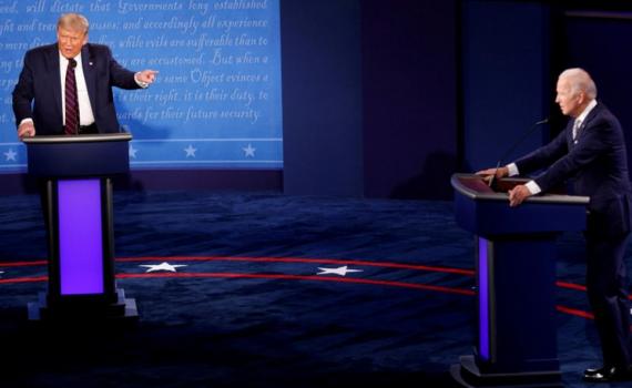 Cuộc đua gay cấn Trump – Biden trước thềm cuộc tranh luận cuối cùng