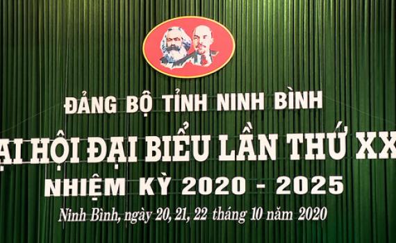 Đại hội đại biểu Đảng bộ tỉnh Ninh Bình sẽ diễn ra từ ngày 20-22/10