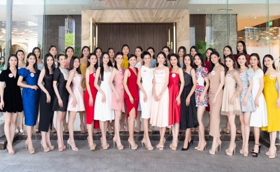 Dàn thí sinh Hoa hậu Việt Nam 2020 hội tụ trước thềm Chung kết toàn quốc