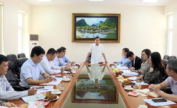 Đoàn ĐBQH tỉnh khảo sát tại Ngân hàng Nhà nước chi nhánh tỉnh Ninh Bình