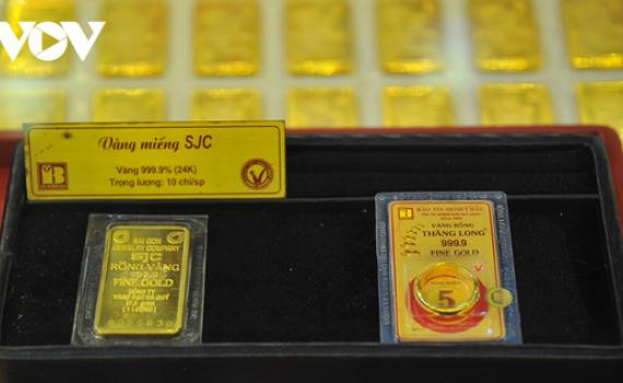 Giá vàng thế giới quay đầu giảm, vàng trong nước giao giao dịch cầm chừng