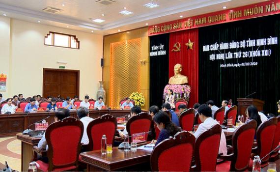 Hội nghị BCH Đảng bộ tỉnh lần thứ 26