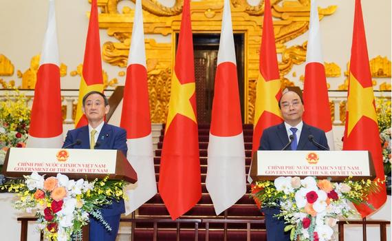 """Thủ tướng Nhật Bản: """"Việt Nam là nước thích hợp nhất để tôi thăm đầu tiên"""""""