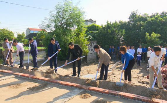Tỉnh đoàn khởi công xây dựng nhà nhân ái