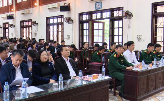 Yên Khánh triển khai nhiệm vụ tuyển quân năm 2021