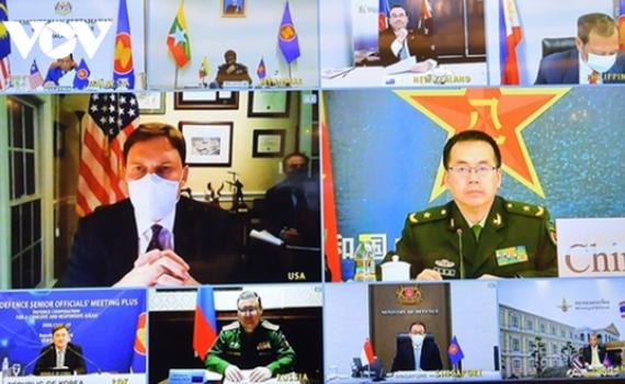 ASEAN cam kết thúc đẩy hợp tác quốc phòng thực chất