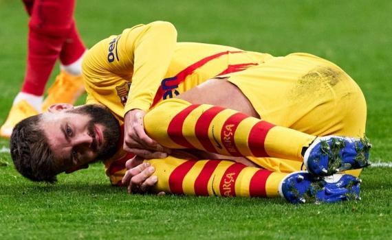 Barca tổn thất lực lượng sau trận thua Atletico Madrid