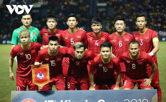 Đội tuyển Việt Nam lần đầu thăng hạng trong năm