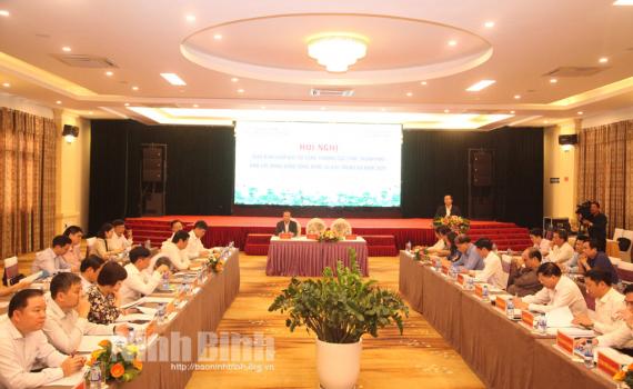 Giao ban Giám đốc Sở Công thương các tỉnh, thành phố khu vực Đồng bằng sông Hồng và Bắc Trung Bộ