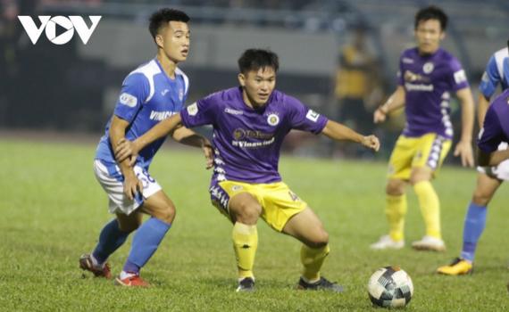 Hà Nội FC dùng đội hình 12 cầu thủ đá V-League dự giải U21 Quốc gia