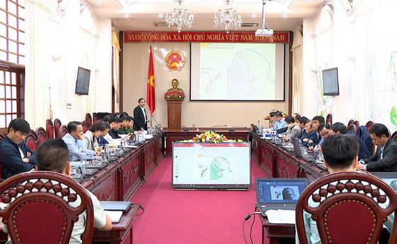Hội nghị nghe báo cáo quy hoạch phân khu nông thôn đô thị Ninh Bình