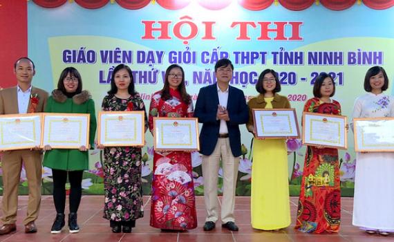 Hội thi giáo viên dạy giỏi cấp THPT tỉnh Ninh Bình thành công tốt đẹp