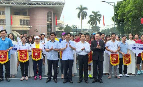 Khai mạc giải quần vợt tỉnh Ninh Bình lần thứ XIV năm 2020