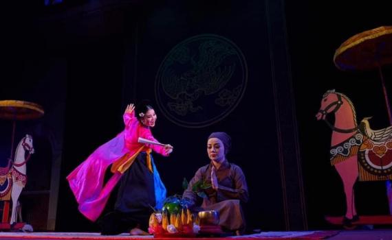 """Nghệ sĩ chèo 10x Thanh Huyền: """"Tôi luôn ngưỡng mộ và biết ơn vợ ca sĩ Tấn Minh"""""""