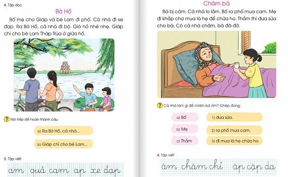 """Sửa SGK Tiếng Việt lớp 1: """"Sáng tạo từ cái sai chỉ càng thêm sai"""""""