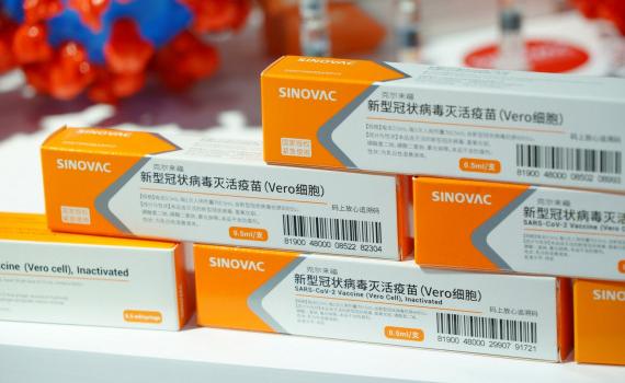 Trung Quốc đưa lô vaccine Covid-19 đầu tiên tới Brazil