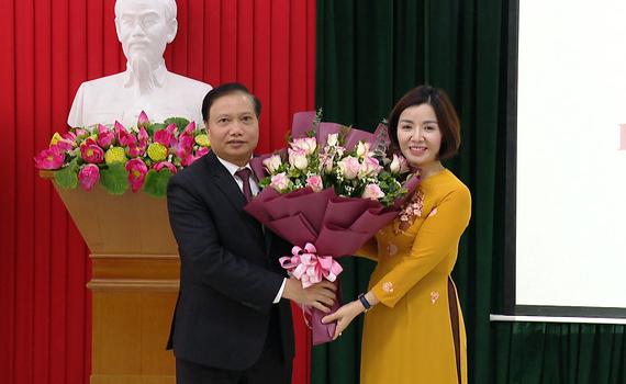 Ban Chấp hành Hội LHPN tỉnh kiện toàn chức danh Chủ tịch Hội
