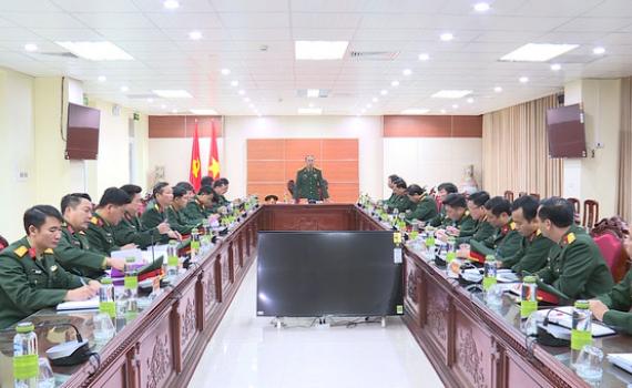 Bộ CHQS tỉnh xây dựng đơn vị vững mạnh toàn diện