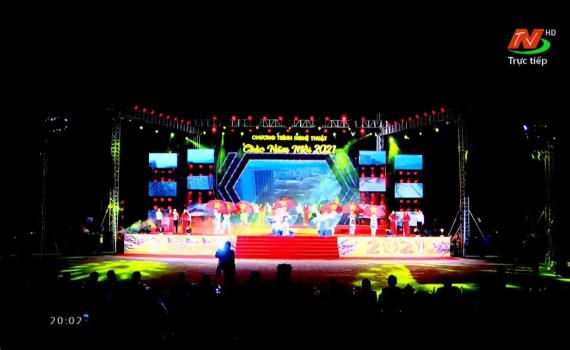 Chương trình nghệ thuật Chào năm mới 2021 tại Ninh Bình