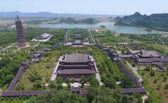 Cố đô Hoa Lư, chùa Bái Đính chuẩn bị đón khách dự LHTHTQ lần thứ 40