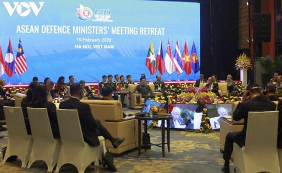 Hội nghị Bộ trưởng Quốc phòng ASEAN khai mạc trực tuyến tại Hà Nội